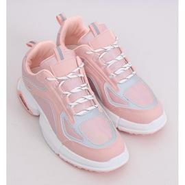 Buty sportowe różowe BO-557 Pink 2