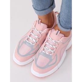 Buty sportowe różowe BO-557 Pink 3