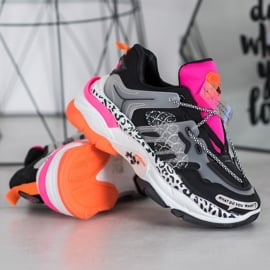 Bella Paris Sneakersy Z Kolorowymi Wstawkami wielokolorowe 1