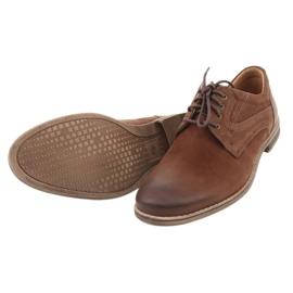 Riko półbuty buty męskie wiązane 831 brązowe 5