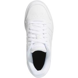 Buty adidas Hoops 2.0 K Jr F35891 białe 1