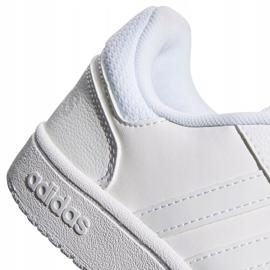 Buty adidas Hoops 2.0 K Jr F35891 białe 4