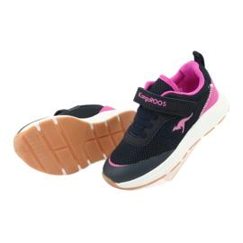 KangaROOS buty sportowe na rzepy 18507 navy/pink 5