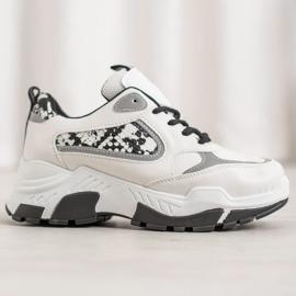 Bella Paris Sneakersy Z Eko Skóry 2