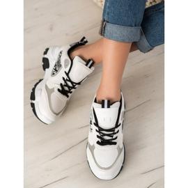 Bella Paris Sneakersy Z Eko Skóry 5