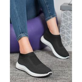 Goodin Ażurowe Buty Sportowe czarne 1
