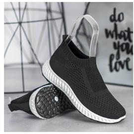 Goodin Ażurowe Buty Sportowe czarne 3