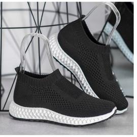 Goodin Ażurowe Buty Sportowe czarne 4