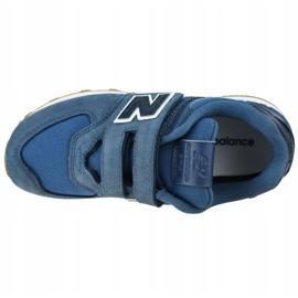 Buty New Balance Jr YV574PRN niebieskie 2