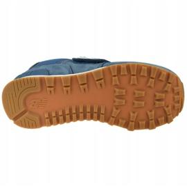 Buty New Balance Jr YV574PRN niebieskie 3