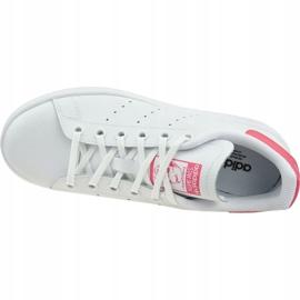 Buty adidas Stan Smith Jr EE7573 białe 2