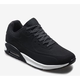 Czarne obuwie sportowe 9-7903A2 1