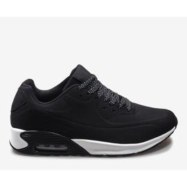 Czarne obuwie sportowe 9-7903A2 2