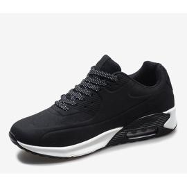 Czarne obuwie sportowe 9-7903A2 3