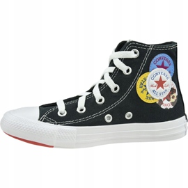 Buty Converse Chuck Taylor All Star Hi Jr 366988C czarne 1