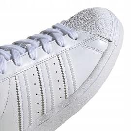 Buty dla dzieci adidas Superstar J białe EF5399 3
