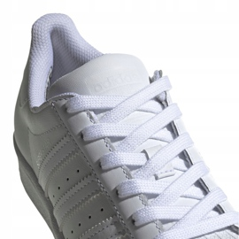Buty dla dzieci adidas Superstar J białe EF5399 4