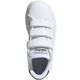 Buty adidas Advantage C Jr FW2589 białe 1