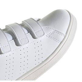 Buty adidas Advantage C Jr FW2589 białe 3