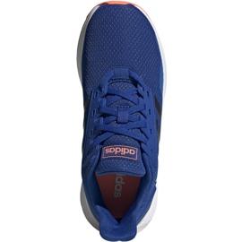 Buty adidas Duramo 9 Jr EG7906 niebieskie 1