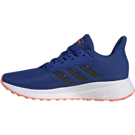 Buty adidas Duramo 9 Jr EG7906 niebieskie 2