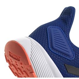 Buty adidas Duramo 9 Jr EG7906 niebieskie 4
