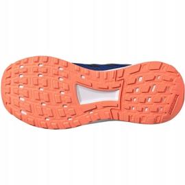 Buty adidas Duramo 9 Jr EG7906 niebieskie 6