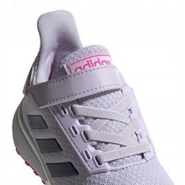 Buty adidas Duramo 9 C Jr EH0545 fioletowe 4
