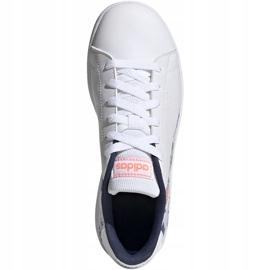 Buty adidas Advantage K Jr EG2000 białe 1