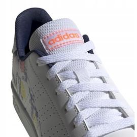 Buty adidas Advantage K Jr EG2000 białe 3