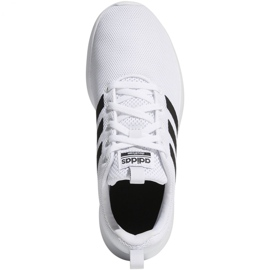 Buty adidas Lite Racer Cln K Jr EG5817 białe 1