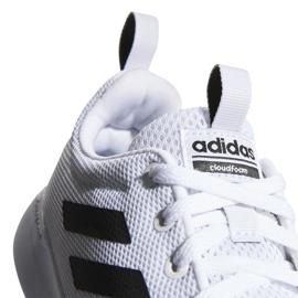 Buty adidas Lite Racer Cln K Jr EG5817 białe 3