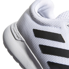 Buty adidas Lite Racer Cln K Jr EG5817 białe 4