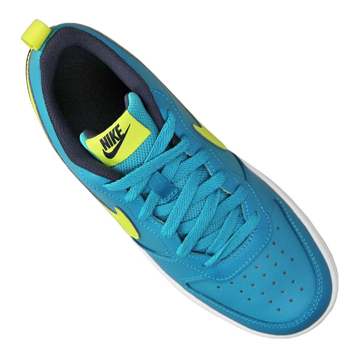 Niebieskie Buty dla dzieci Nike ButyModne.pl