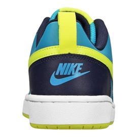 Buty Nike Court Borough Low 2 Jr BQ5448-400 niebieskie 2