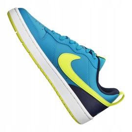Buty Nike Court Borough Low 2 Jr BQ5448-400 niebieskie 3