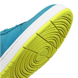 Buty Nike Court Borough Low 2 Jr BQ5448-400 niebieskie 5