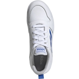 Buty adidas Tensaur K Jr EF1089 białe 1