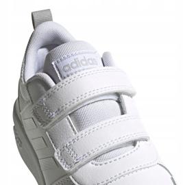 Buty adidas Tensaur C Jr EG4089 białe 4