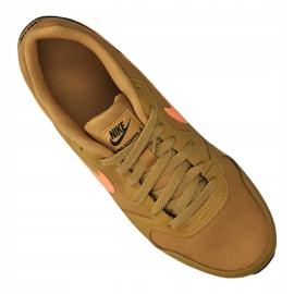 Buty Nike Md Runner 2 Gs Jr 807316-700 brązowe 1