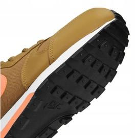 Buty Nike Md Runner 2 Gs Jr 807316-700 brązowe 3