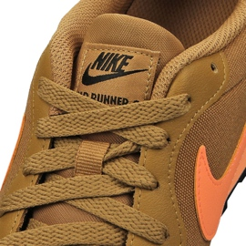 Buty Nike Md Runner 2 Gs Jr 807316-700 brązowe 4