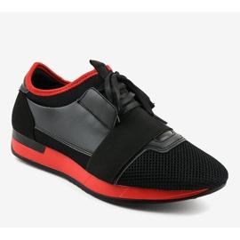 Czarne obuwie sportowe męskie B18-101 1
