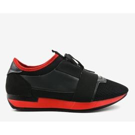 Czarne obuwie sportowe męskie B18-101 2