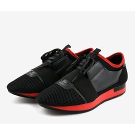 Czarne obuwie sportowe męskie B18-101 3