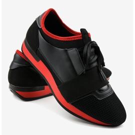 Czarne obuwie sportowe męskie B18-101 4