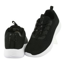 Lekkie buty sportowe siatka Atletico 1858073 czarne 4