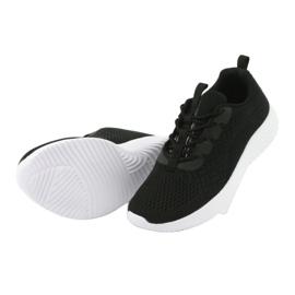 Lekkie buty sportowe siatka Atletico 1858073 czarne 5