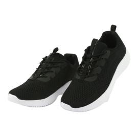 Lekkie buty sportowe siatka Atletico 1858073 czarne 3