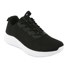Lekkie buty sportowe siatka Atletico 1858073 czarne 1